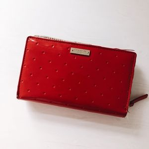 KATE SPADE RED SMALL WALLET